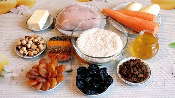 Набор продуктов для медового плова