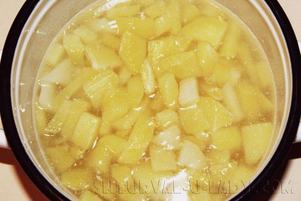 Отваривание картофеля