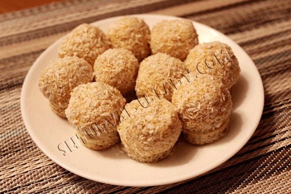 Мандариновые шарики с сыром и чесноком