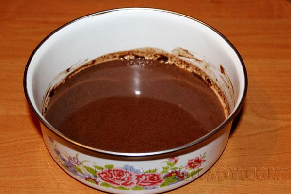 Шоколадная пропитка для торта