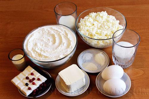 Продукты для приготовления булочек зайцев