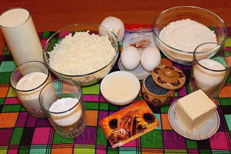 Набор продуктов для творожного манника