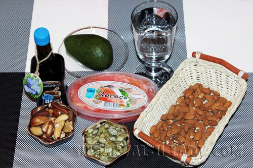 Ингредиенты для лифтинг диеты