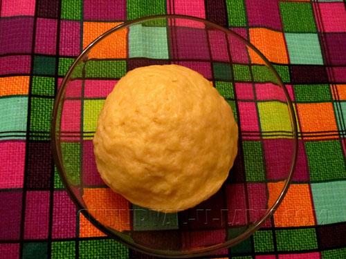 Готовое тесто круглое