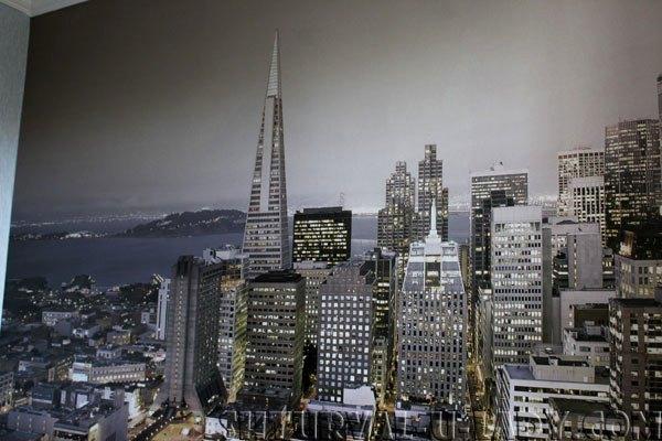 Модные фотообои с изображением вечернего города