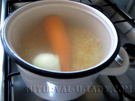 Готовка горохового супа