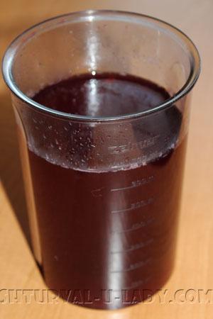 """Ягодно-винная основа желе """"глинтвейн"""""""