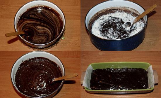 Приготовление шоколадного теста для брауни