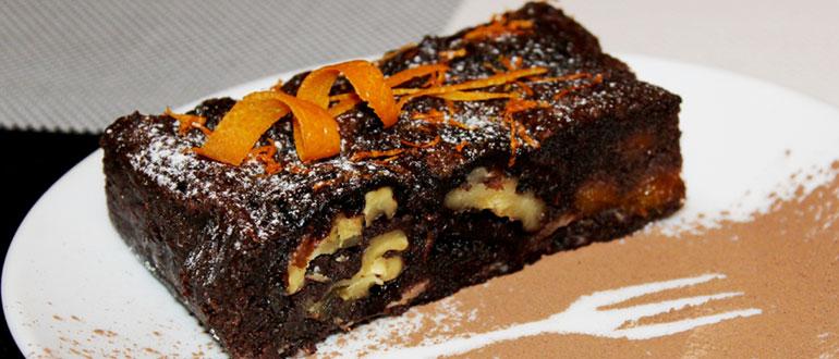 Брауни шоколадный десерт