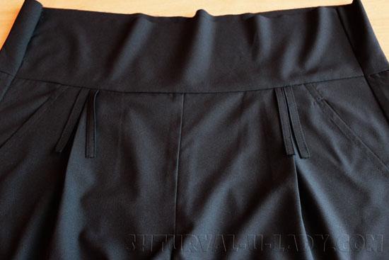 Брюки-кюлоты женские пошив