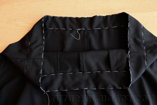 Пошив пояса брюк