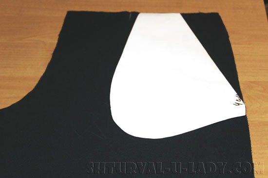 Пошив бокового кармана брюк кюлотов