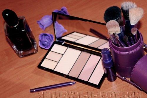 Кисти для макияжа от MAC, палетка