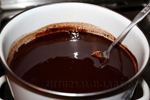 Ганаш из шоколада и сливок
