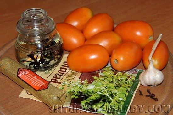Продукты для томатного соуса
