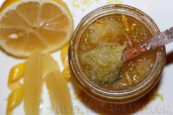 Смесь меда и лимона