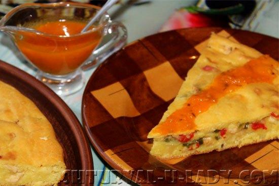 Соус из томатов к пирогу