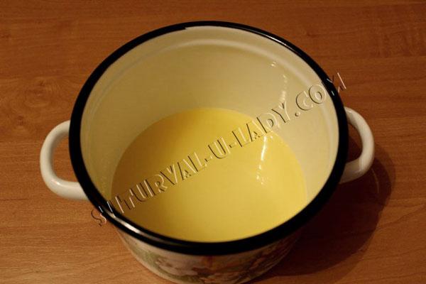 Апельсиново-лимонная пропитка для торта