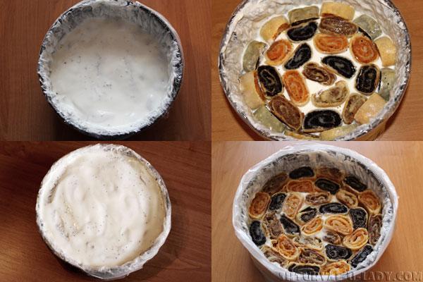Формирование торта Лабиринт