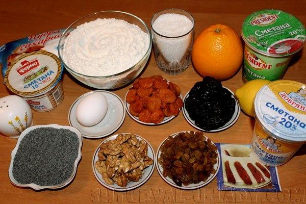 Набор продуктов для торта Лабиринт