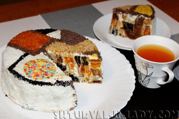 Разрезанный торт Лабиринт