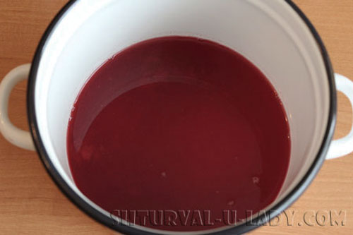 Желе из вишневого сока приготовление