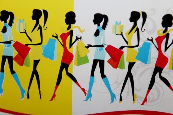Девушки, шоппинг
