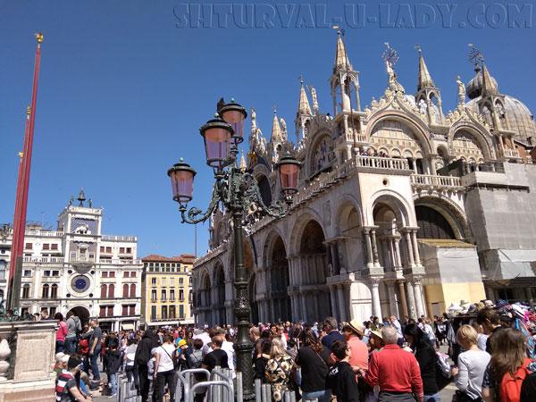 Итальянская Венеция архитектура