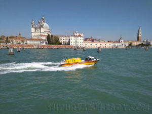 Венеция катер прогулка