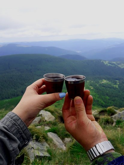 Счастье вдвоем в горах