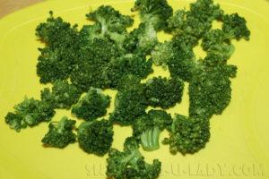 Брокколи для овощного салата