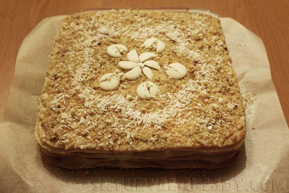Наполеон торт приготовление