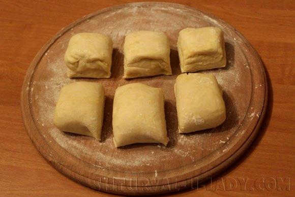 Тесто для выпекания коржей