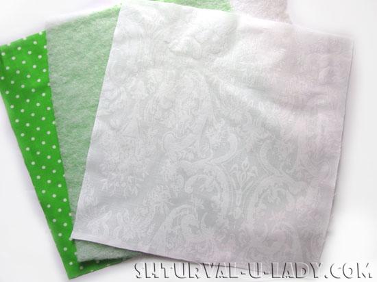 Детали для пошива сухарницы