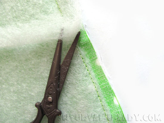 Сухарница из ткани пошив