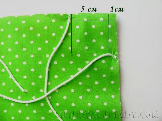 Пошив текстильной сухарницы