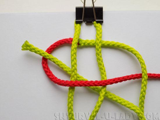 Схема плетения браслета