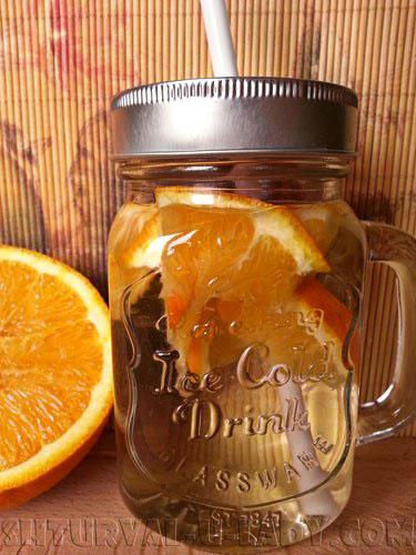 Детокс вода с апельсином