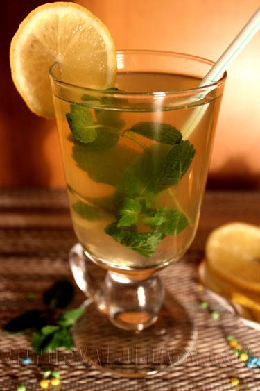 Детокс вода лимон мята