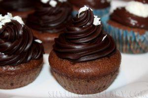 Шоколадные капкейки