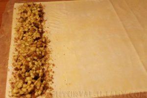 Приготовление венского штруделя