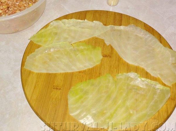 Бланшированные листы капусты для голубцов