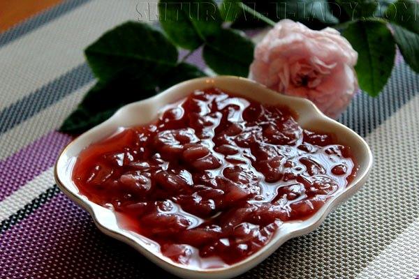 Варенье из розы в домашних условиях