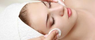 Чистка кожи лица с помощью спонжей