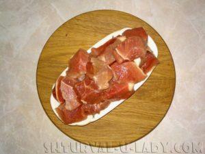 Нарезка мяса для обжарки