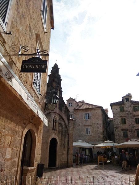 Котор старый город Черногория