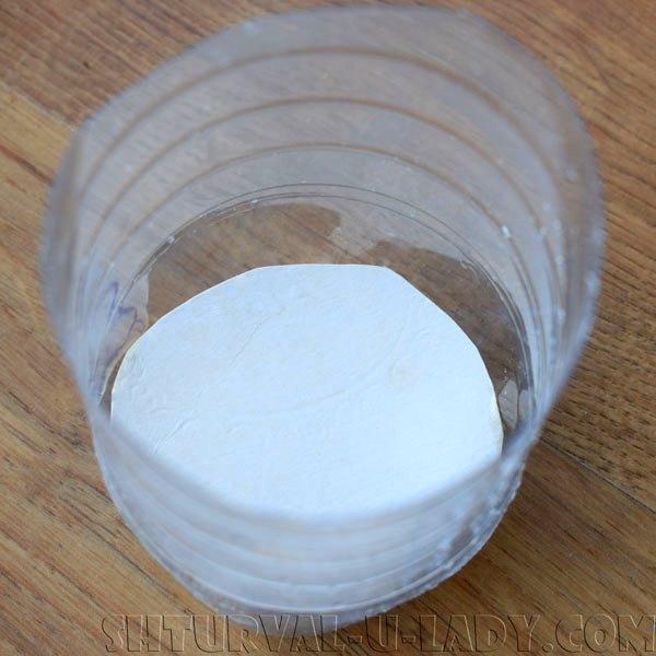 Самодельная форма для свечки