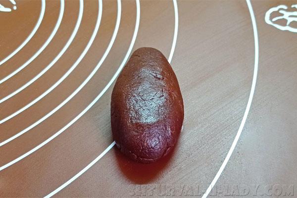 Заготовка шоколадного печенья