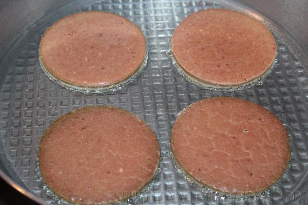 Оладьи из печени на сковороде