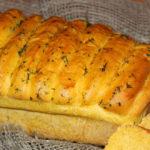 Тыквенный хлеб из дрожжевого теста